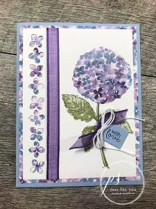 hydrangea haven card tutorial
