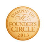 Stampin' Up! Founder's Circle 2013