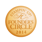 Stampin' Up! Founder's Circle 2014