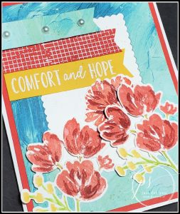Comfort & Hope Card Tutorial